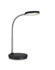 Lampa stołowa FLEX 106467 Markslojd czarna ledowa lampka elastyczna z chromowym wykończeniem