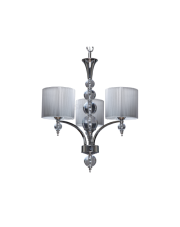 Lampa wisząca/żyrandol Lyon 5071302 Spotlight klasyczna srebna oprawa