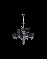 Lampa wisząca/żyrandol Lyon 5070124 Spotlight klasyczna czarna oprawa