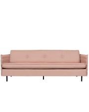 Sofa JAEY 3-SEATER SALSA SALMON 3200043 Zuiver potrójna sofa w kolorze łososiowym