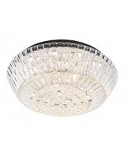 Lampa sufitowa plafon szklany Chopin C0132 klasyczny czarny Maxlight