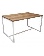 Stół nowoczesny prostokątny Denver z drewnianym blatem take me Home