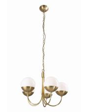 Lampa wisząca żyrandol Dallas P0240 oprawa wisząca nowoczesna złota Maxlight