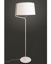 Lampa podłogowa Chicago F0035 oprawa stojąca nowoczesna biała Maxlight