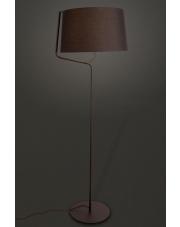 Lampa podłogowa Chicago F0036 oprawa stojąca nowoczesna czarna Maxlight