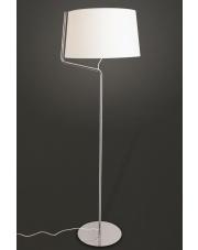 Lampa podłogowa Chicago F0037 oprawa stojąca nowoczesna chromowa Maxlight