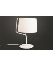 Lampa stołowa Chicago T0028 oprawa stojąca nowoczesna biała Maxlight