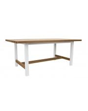 Stół rustykalny drewniany Mazuria z belką take me Home