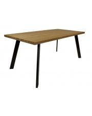 Stół nowoczesny dębowy Mezzo stalowy minimalistyczny take me Home