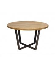 Stół minimalistyczny Okrągły dębowy 130 take me Home