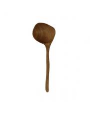 WYSYŁKA 24H! Chochla drewniana AKE1119 HK Living oryginalna łyżka z drewna tekowego