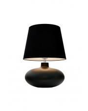 Lampa stołowa Sawa 40591102 oprawa stojąca grafit mat/abażur czarny Kaspa