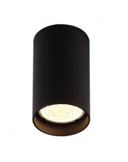 Plafon Pet Round New C0142 Maxlight czarna tuba oprawa natynkowa
