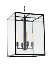 Lampa wisząca Vita L 10157106 oprawa wisząca ciemny brąz Kaspa