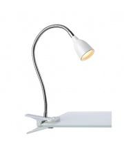 Lampa biurkowa Tulip LED 106091 oprawa z klipsem biała Markslojd