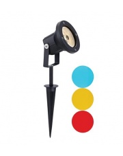 Reflektor ogrodowy Spot Tradgard 104721 oprawa czarna/różnokolorowa Markslojd