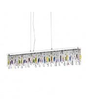 Lampa wisząca Giada Color 099170 Ideal Lux wielokolorowa kryształowa oprawa wisząca