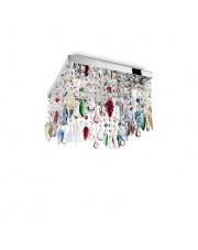 Plafon Giada Color 099200 Ideal Lux wielokolorowa kryształowa oprawa sufitowa