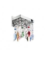 Kinkiet Giada Color  099217 Ideal Lux wielokolorowa kryształowa oprawa ścienna