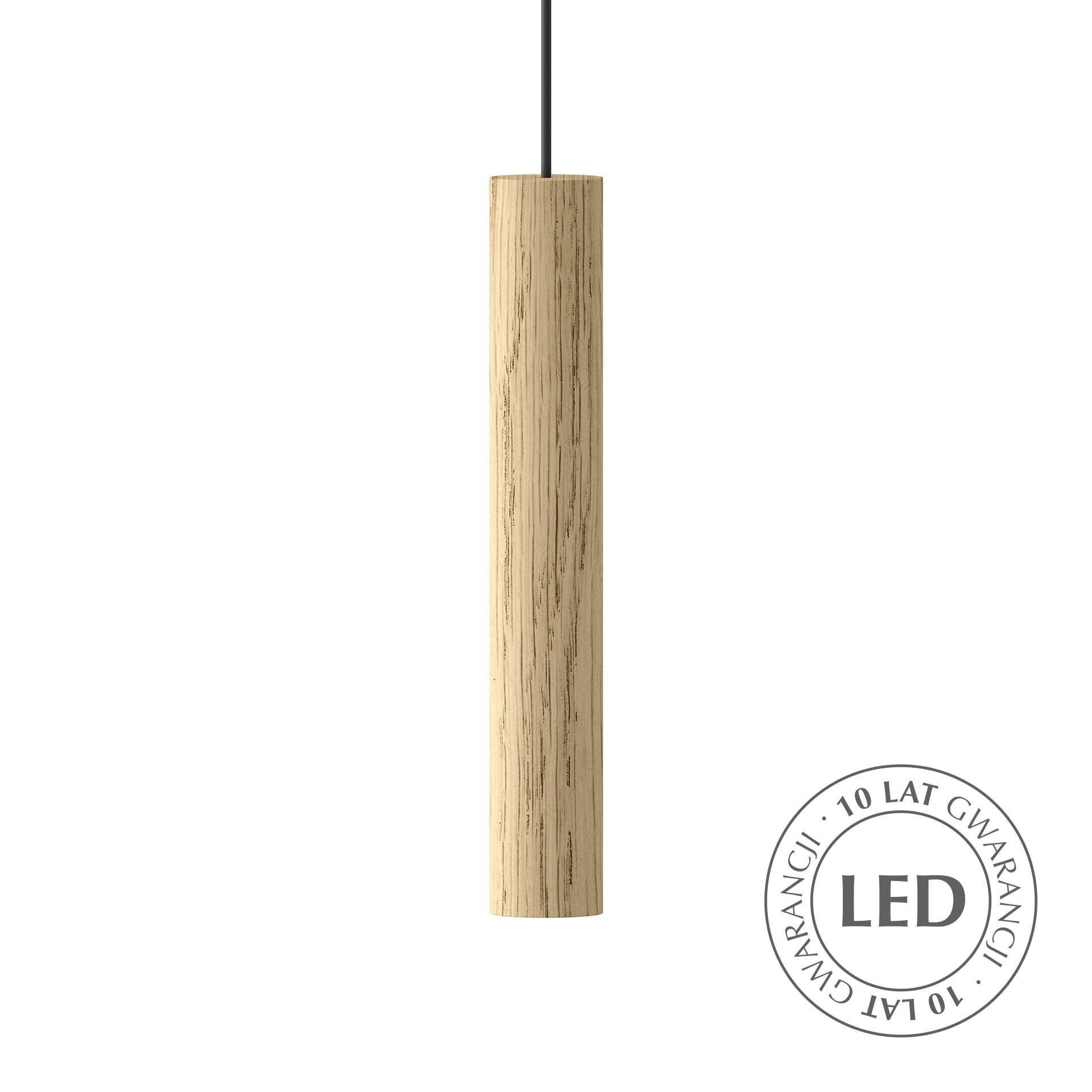 Lampa wisząca Chimes Oak 2165 UMAGE designerska drewniana
