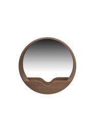 Lustro ROUND WALL'60 8100004 Zuiver lustro ścienne 60 w kolorze dębu