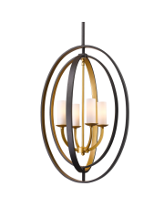 Lampa wisząca Dublin P04472BZ COSMOLight designerska nowoczesna oprawa wisząca