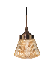 Lampa wisząca Barcelona P01918BR COSMOLight oprawa wisząca w stylu art deco