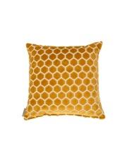 Poduszka MONTY HONEY 8600024 Zuiver miodowa poduszka ozdobna z wzorem w sześciokąty