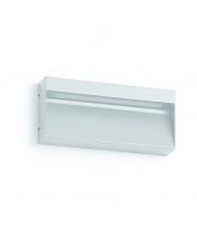 Kinkiet zewnętrzny Abar IP54 847A-L0107B-01 Dopo biała zewnętrzna oprawa LED
