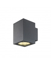 Kinkiet zewnętrzny Bindo Square IP54 549A-L0112A-04 Dopo antracytowa zewnętrzna oprawa LED