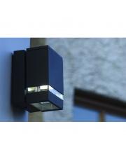 Kinkiet zewnętrzny Anibal IP44 013B-G21X1A-03 Dopo szara zewnętrzna oprawa