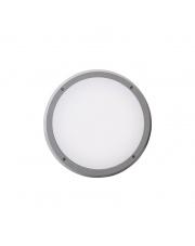 Plafon zewnętrzny Delfi IP65 522A-L0214B-03 Dopo szara zewnętrzna oprawa LED