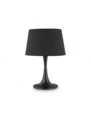 Lampa stołowa London Big Nero 110455 Ideal Lux czarna oprawa stołowa w stylu nowoczesnym