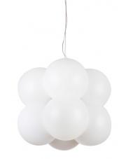 Lampa wisząca Aris MD-8047-8 AZzardo biała minimalistyczna oprawa wisząca