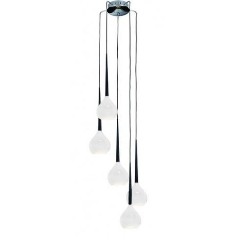 Lampa wisząca Aga AZ1071 AZzardo designerska szklana oprawa