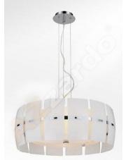 Lampa wisząca Taurus MD 2050-4W  AZzardo efektowna szklana oprawa wisząca