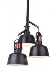 Lampa wisząca Darling MD50686-3 AZzardo oprawa wisząca w stylu industrialnym