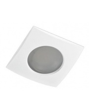 Oczko stropowe Ezio IP54 GM2105 WH AZzardo kwadratowa wpuszczana oprawa łazienkowa w stylu nowoczesnym