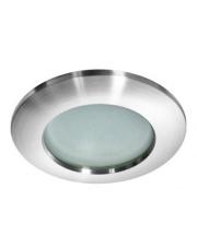 Oczko stropowe Emilio IP54 GM2104 ALU AZzardo okrągła wpuszczana oprawa łazienkowa w stylu nowoczesnym