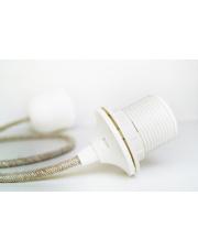 Zawieszenie do lamp Cord Set Textil Sand Orikomi ekologiczne klasyczne zawieszenie do lamp