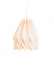 Lampa wisząca Plain Pastel Pink Orikomi dekoracyjna papierowa oprawa wisząca