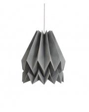 Lampa wisząca Plain Alpine Grey Orikomi dekoracyjna papierowa oprawa wisząca