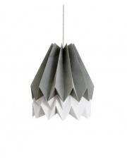 Lampa wisząca Alpine Grey with Light Grey Stripe Orikomi efektowna papierowa oprawa wisząca