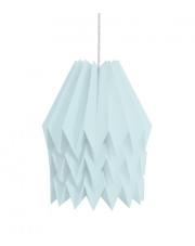 Lampa wisząca XL Plain Mint Blue Orikomi papierowa dekoracyjna oprawa wisząca