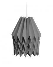 Lampa wisząca XL Plain Alpine Grey Orikomi papierowa dekoracyjna oprawa wisząca
