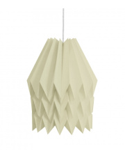 Lampa wisząca XL Plain Light Taupe Orikomi papierowa dekoracyjna oprawa wisząca