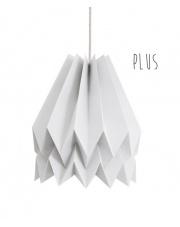 Lampa wisząca Plus Plain Light Grey Orikomi stylowa papierowa oprawa wisząca