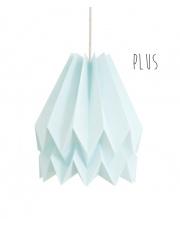 Lampa wisząca Plus Plain Mint Blue Orikomi stylowa papierowa oprawa wisząca