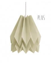 Lampa wisząca Plus Plain Light Taupe Orikomi stylowa papierowa oprawa wisząca
