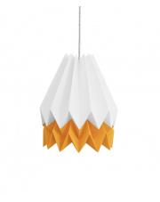 Lampa wisząca Summer Mango Yellow Stripe Orikomi papierowa oprawa wisząca origami